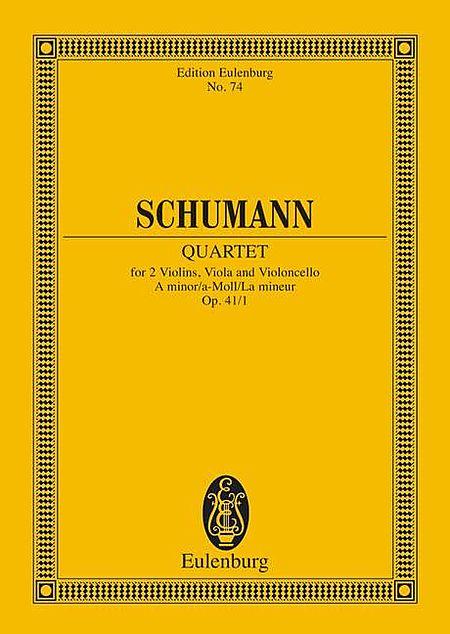 String Quartet No. 1, Op. 41 in A Minor