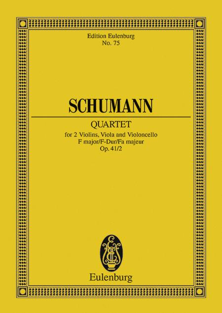 String Quartet No. 2, Op. 41 in F Major