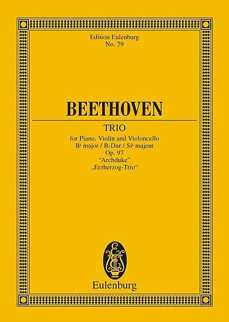 Piano Trio No. 7, Op. 97