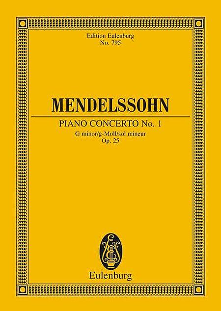 Piano Concerto No. 1, Op. 25 in G Minor