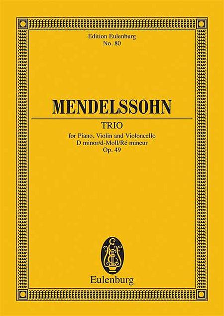 Piano Trio No. 1, Op. 49 in D Minor