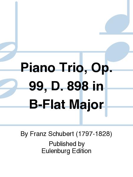 Piano Trio, Op. 99, D. 898 in B-Flat Major