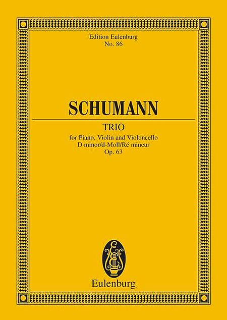 Piano Trio, Op. 63 in D Minor