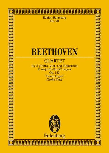 String Quartet, Op. 133