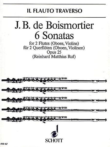 6 Sonatas, Op. 25