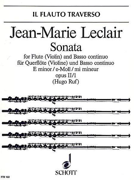 Sonata in E Minor, Op. 2, No. 1