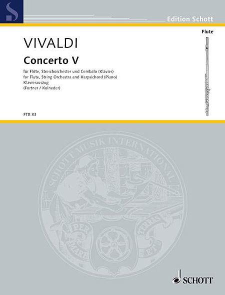 Concerto No. 5, Op. 10 (RV 434/PV 262)