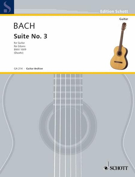 Cello-Suite No. 3, BWV 1009