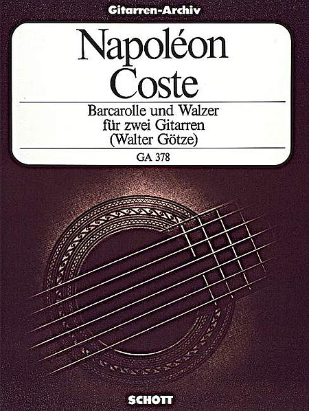 Barcarolle and Waltz, Op. 51