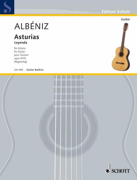 Asturias (Leyenda), Op. 47