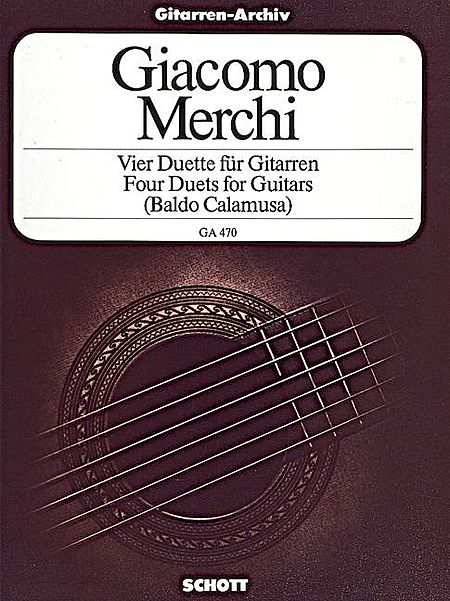 Four Duets for Guitars, Op. 3