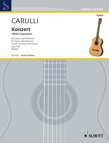 Concerto in E Minor, Op. 140