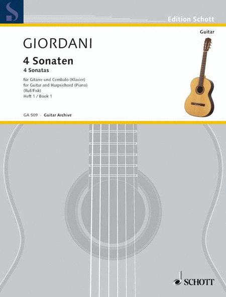 Four Sonatas for Guitar and Piano