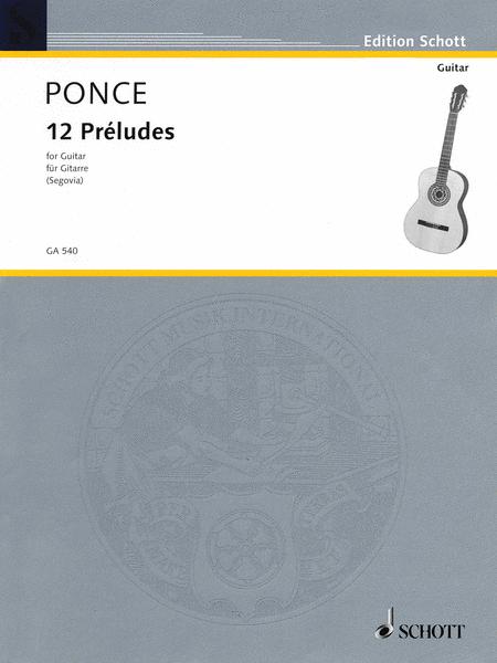 12 Preludes (Easy Etudes)