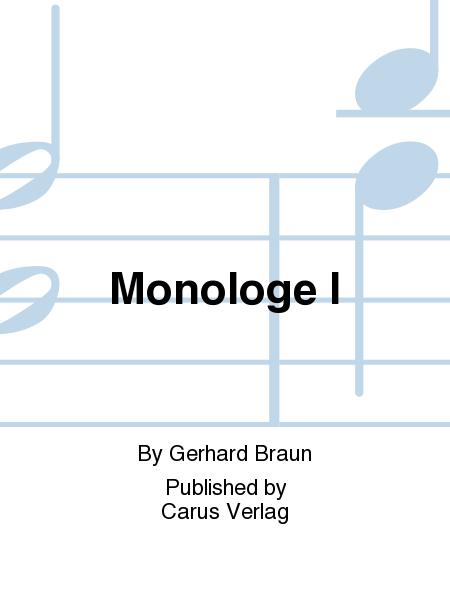 Monologe I