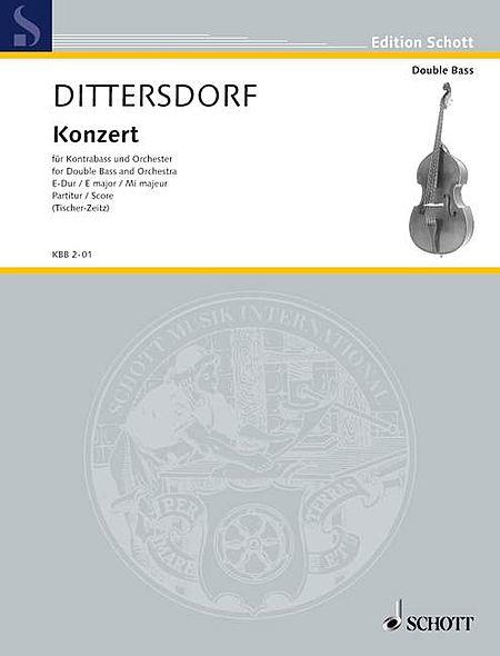Double Bass Concerto in E Major (Krebs 172)