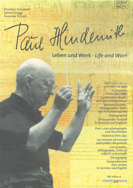 Paul Hindemith: Life and Work