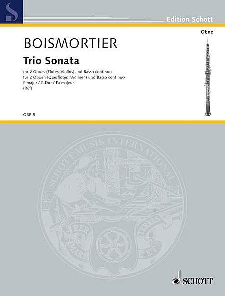 Trio Sonata F Major 2ob/bc