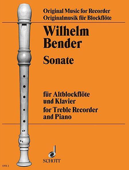 Sonata for Alto Recorder and Piano
