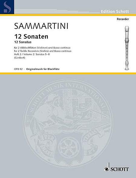 12 Sonatas, Volume 2
