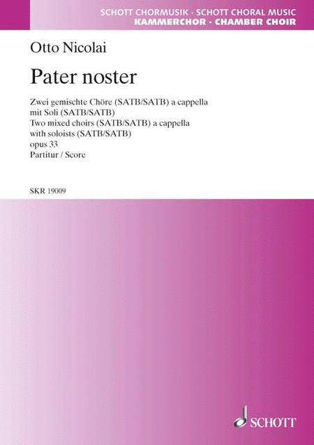 Pater Noster, Op. 33