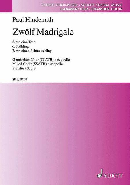 12 Madrigals, Volume 2