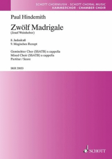 12 Madrigals, Volume 3