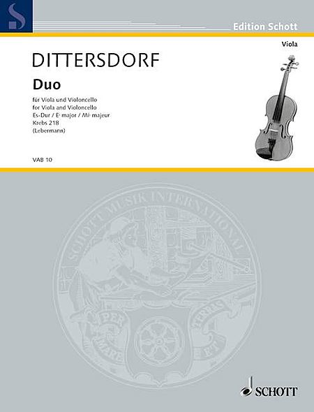 Duo in E-flat Major, Krebs 218