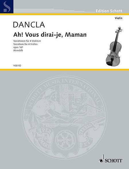 Ah! Vous dirai-je, Maman Variations, Op. 161