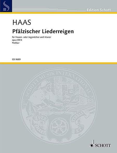 Pfalzischer Liederreigen Op. 89/3