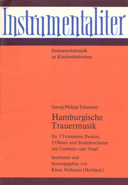 Hamburgische Trauermusik