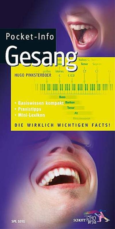 Pocket-Info Gesang