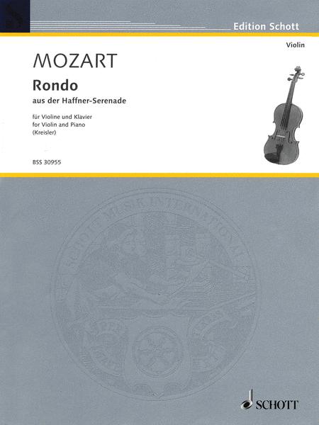 Rondo from the Haffner-Serenade, KV. 250