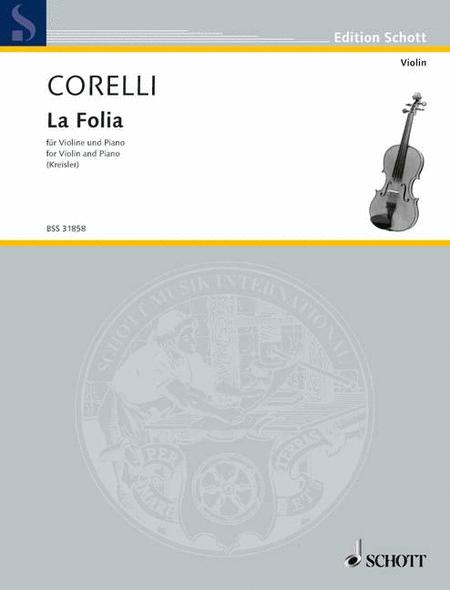 Kreisler Cm18 Corelli La Folia Vln Pft