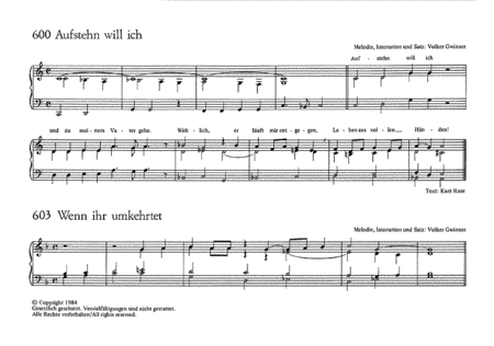 Beiheft 83: Orgel-Begleitsatze