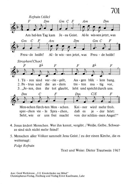 Neue Lieder II: Melodieheft Wurttemberg