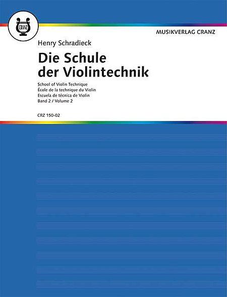 School of Violin Technique - Volume 2