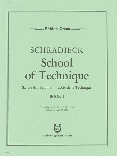 School of Viola Technique - Volume 1