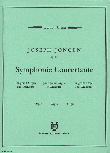 Symphonie Concertante Op. 81