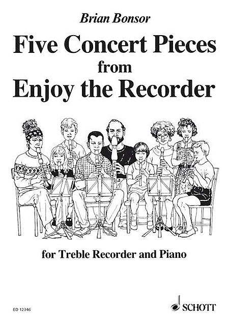 5 Concert Pieces from Enjoy the Recorder