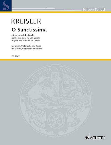 Kreisler F O Sanctissima (corelli)(ep)