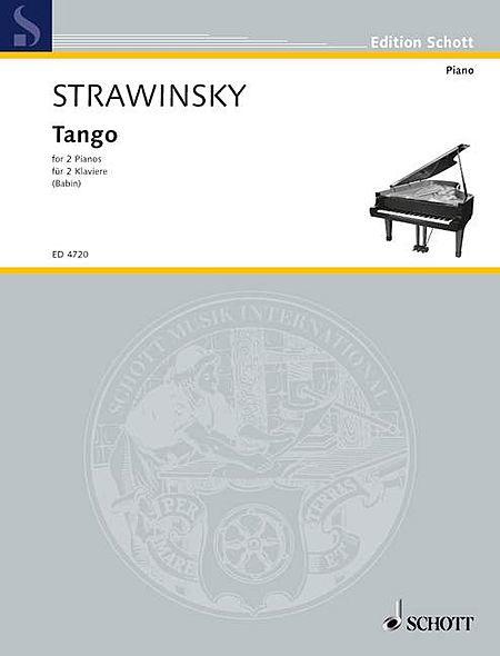 Stravinsky Tango Pft 4h