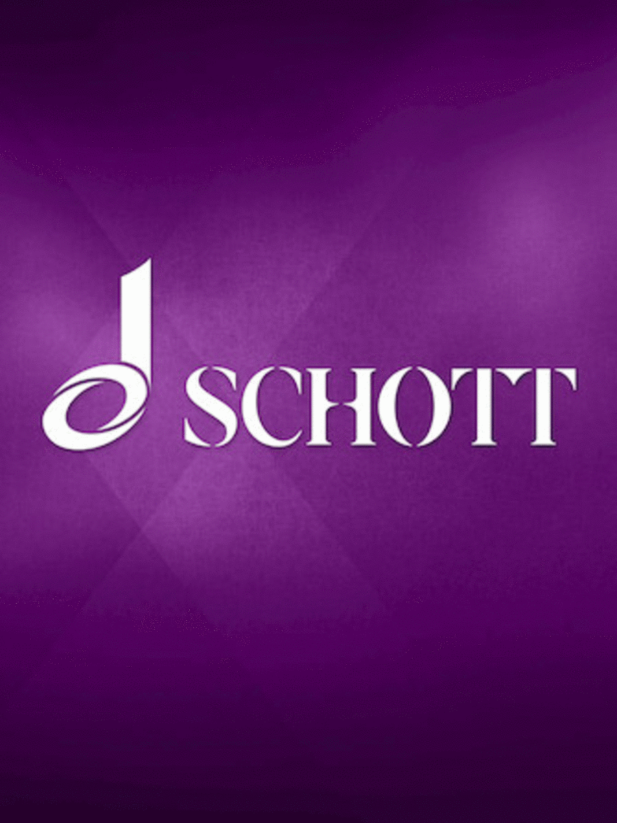 Schoenberg Moses Aron Vocal Score