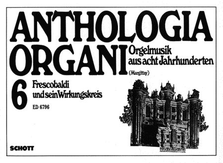 Margittay(ed) Anthologia Organi Vi