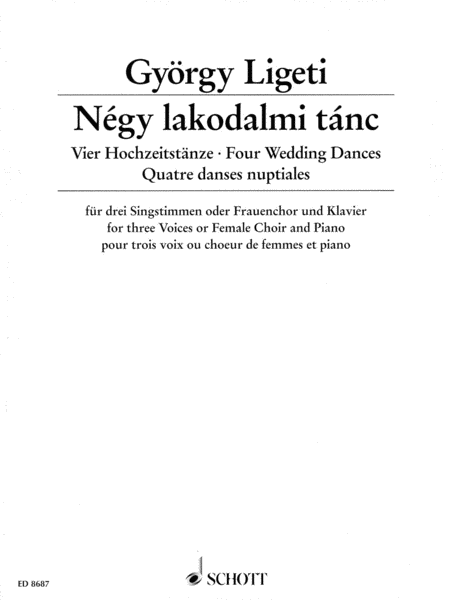 Four Wedding Dances