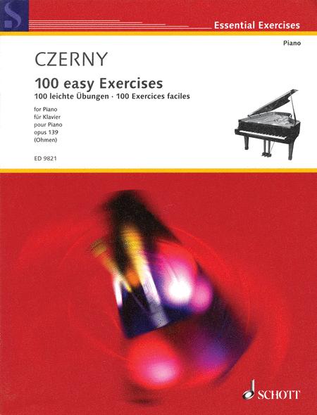 Czerny - 100 Easy Exercises