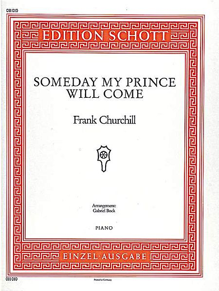 Churchill F Someday My Prince Will Come