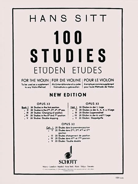 100 Studies, Op. 32 - Book 1
