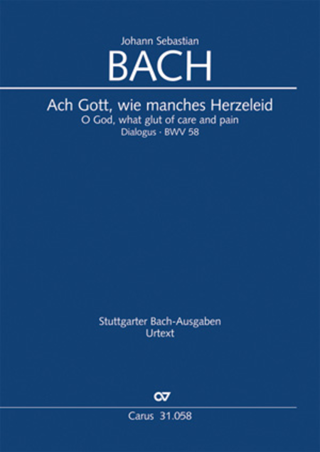 O God, What Glut Of Care And Pain Sheet Music By Johann