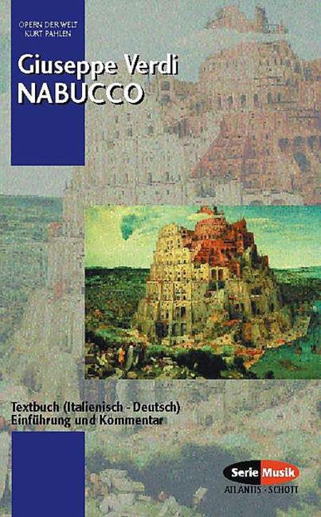 Verdi Nabucco Text Book
